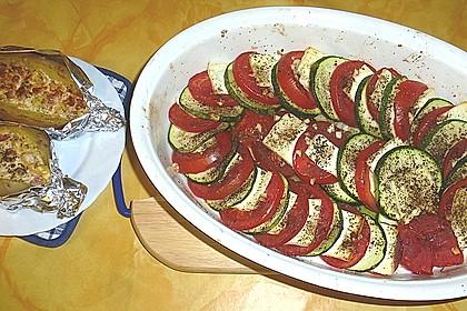 Auflauf von Zucchini, Tomaten und Feta 29