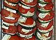 Auflauf von Zucchini, Tomaten und Feta