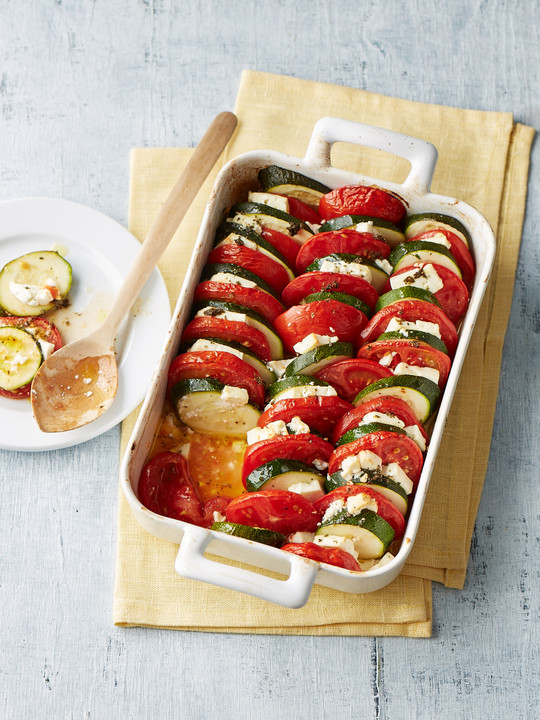 auflauf von zucchini tomaten und feta von schnuppimaus2000. Black Bedroom Furniture Sets. Home Design Ideas