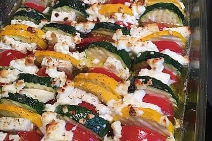 Auflauf von Zucchini, Tomaten und Feta 18