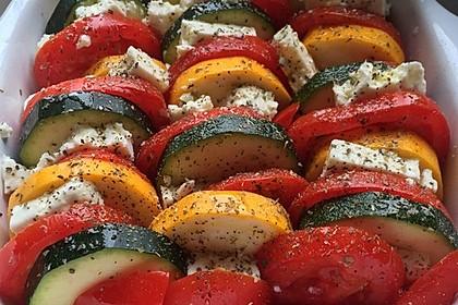 Auflauf von Zucchini, Tomaten und Feta 25