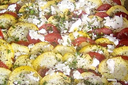 Auflauf von Zucchini, Tomaten und Feta 38