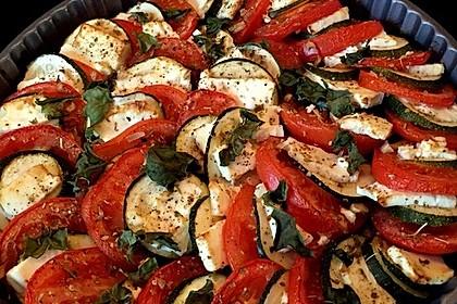 Auflauf von Zucchini, Tomaten und Feta 5