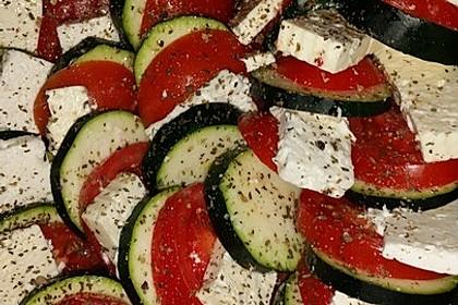 Auflauf von Zucchini, Tomaten und Feta 10