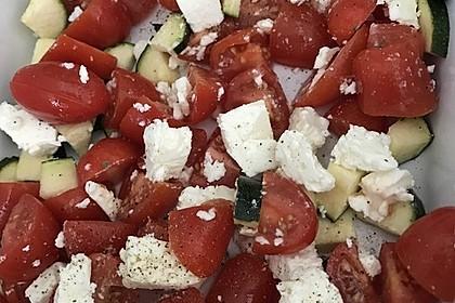 Auflauf von Zucchini, Tomaten und Feta 19