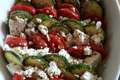 Auflauf von Zucchini, Tomaten und Feta 8