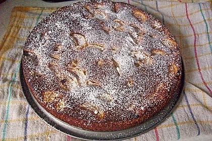 Sahne - Birnen - Kuchen mit Streuseln 10