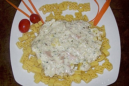 Pasta mit Thunfischsauce 0