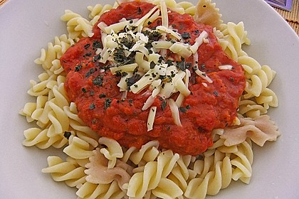 Sizilianische Tomatensoße 11