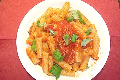 Sizilianische Tomatensoße 12