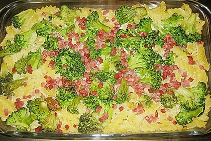 Brokkoli - Nudel - Auflauf 10