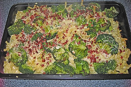 Brokkoli - Nudel - Auflauf 8