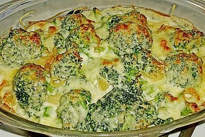 Brokkoli - Nudel - Auflauf 2