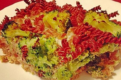 Brokkoli - Nudel - Auflauf 6