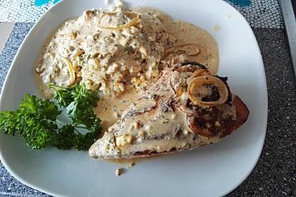 Zwiebel - Sahne - Schnitzel 1