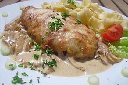 Zwiebel - Sahne - Schnitzel 10