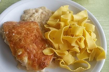 Zwiebel - Sahne - Schnitzel 8