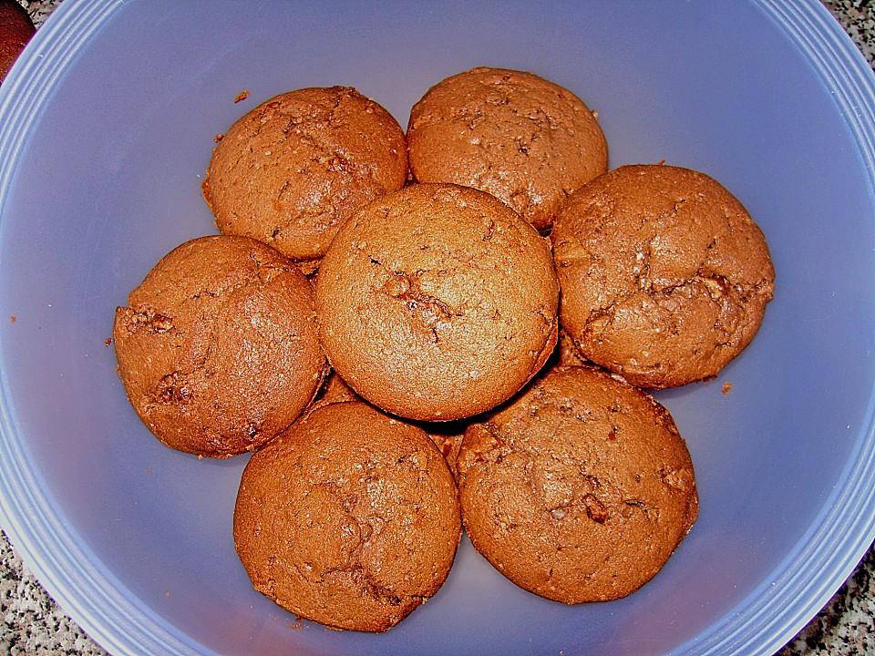 erdnussbutter schokoladen muffins rezept mit bild. Black Bedroom Furniture Sets. Home Design Ideas
