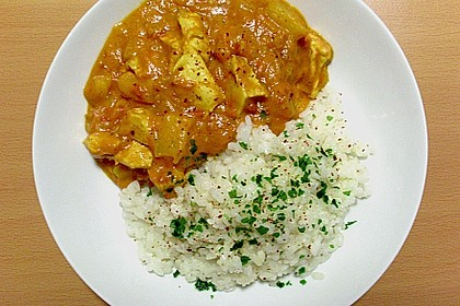 Kokosmilch - Curry