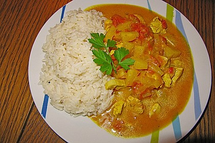 Kokosmilch - Curry 1