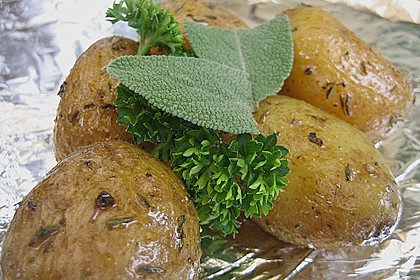 Grillkartoffeln mit Rosmarin