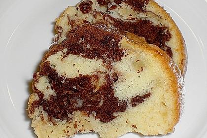 Apfel - Ingwer - Marmorkuchen 1