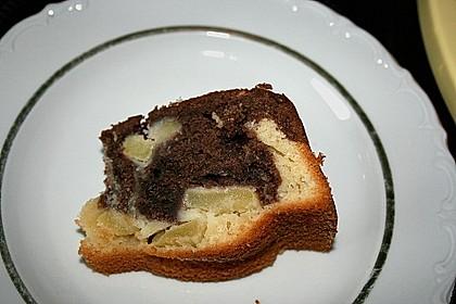 Apfel - Ingwer - Marmorkuchen