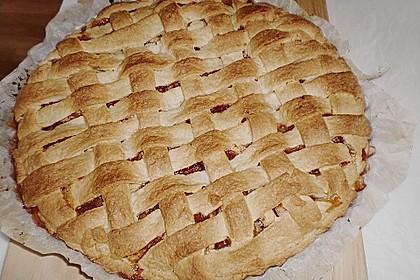 Gedeckter Apfelblechkuchen 2