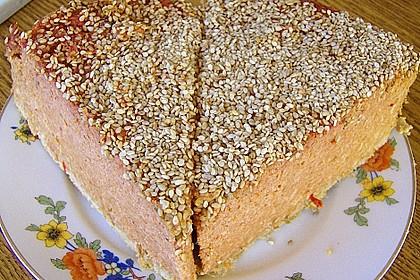 Kokoscreme Kuchen IV, pikant