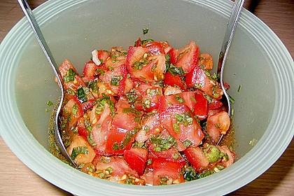 Türkischer Salat mit Minze 4