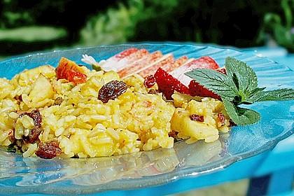 Curry - Reis, fruchtig, scharf und süß nach Laura 1