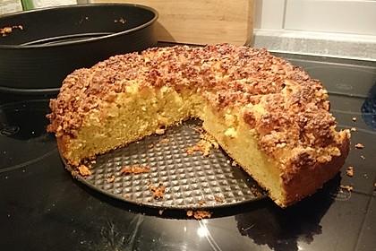 Apfel - Mandel - Kuchen mit Eierlikör 35