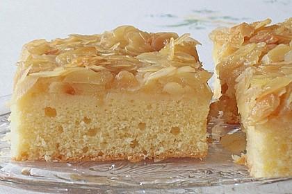Apfel - Mandel - Kuchen mit Eierlikör 0
