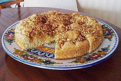 Apfel - Mandel - Kuchen mit Eierlikör 24