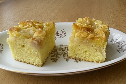 Apfel - Mandel - Kuchen mit Eierlikör 12