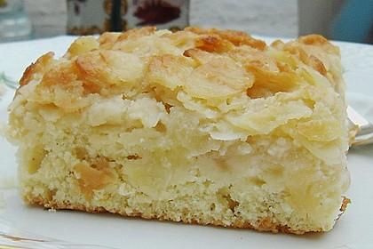 Apfel - Mandel - Kuchen mit Eierlikör 6