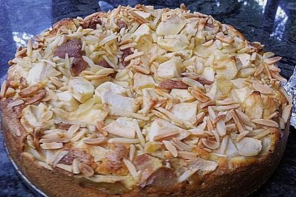 Apfel - Mandel - Kuchen mit Eierlikör 43