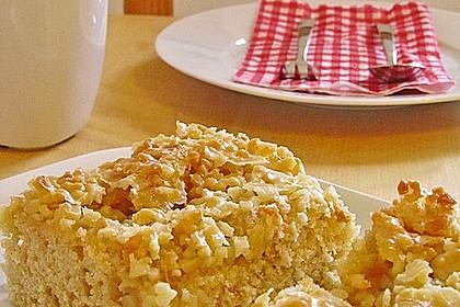 Apfel - Mandel - Kuchen mit Eierlikör 8