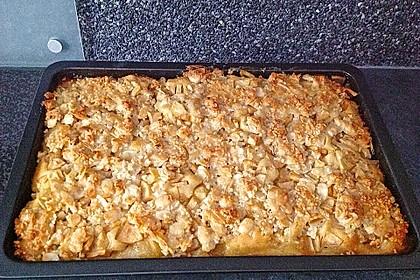 Apfel - Mandel - Kuchen mit Eierlikör 39