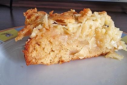 Apfel - Mandel - Kuchen mit Eierlikör 21