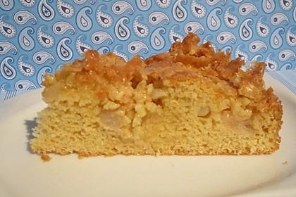 Apfel - Mandel - Kuchen mit Eierlikör 36