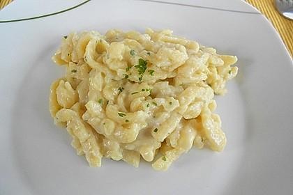 Cremige Käsespätzle 1