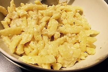 Cremige Käsespätzle 10