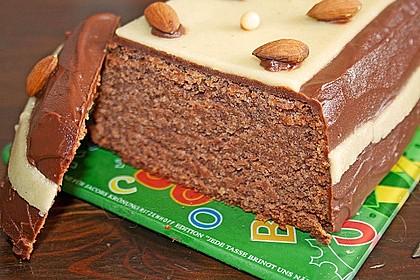 Schoko - Nuss - Kuchen