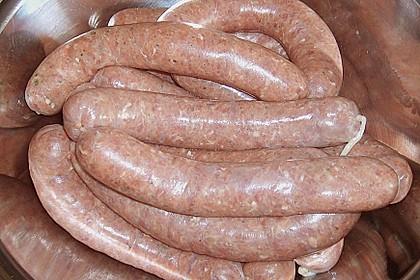 Fettarme Grillwurst
