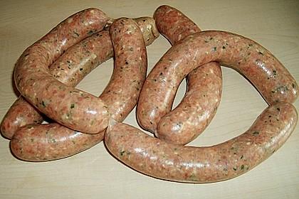 Fettarme Grillwurst 4