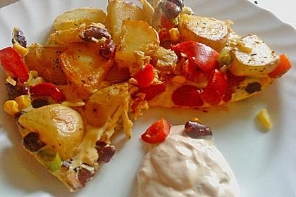 Kartoffel - Bohnen - Tortilla 0