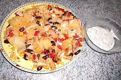 Kartoffel - Bohnen - Tortilla 1