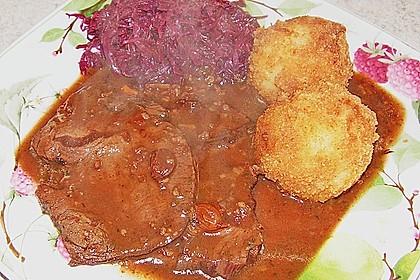 Echt rheinischer Sauerbraten 7