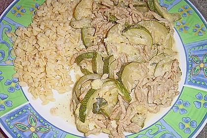 Zucchini - Hackfleisch - Soße